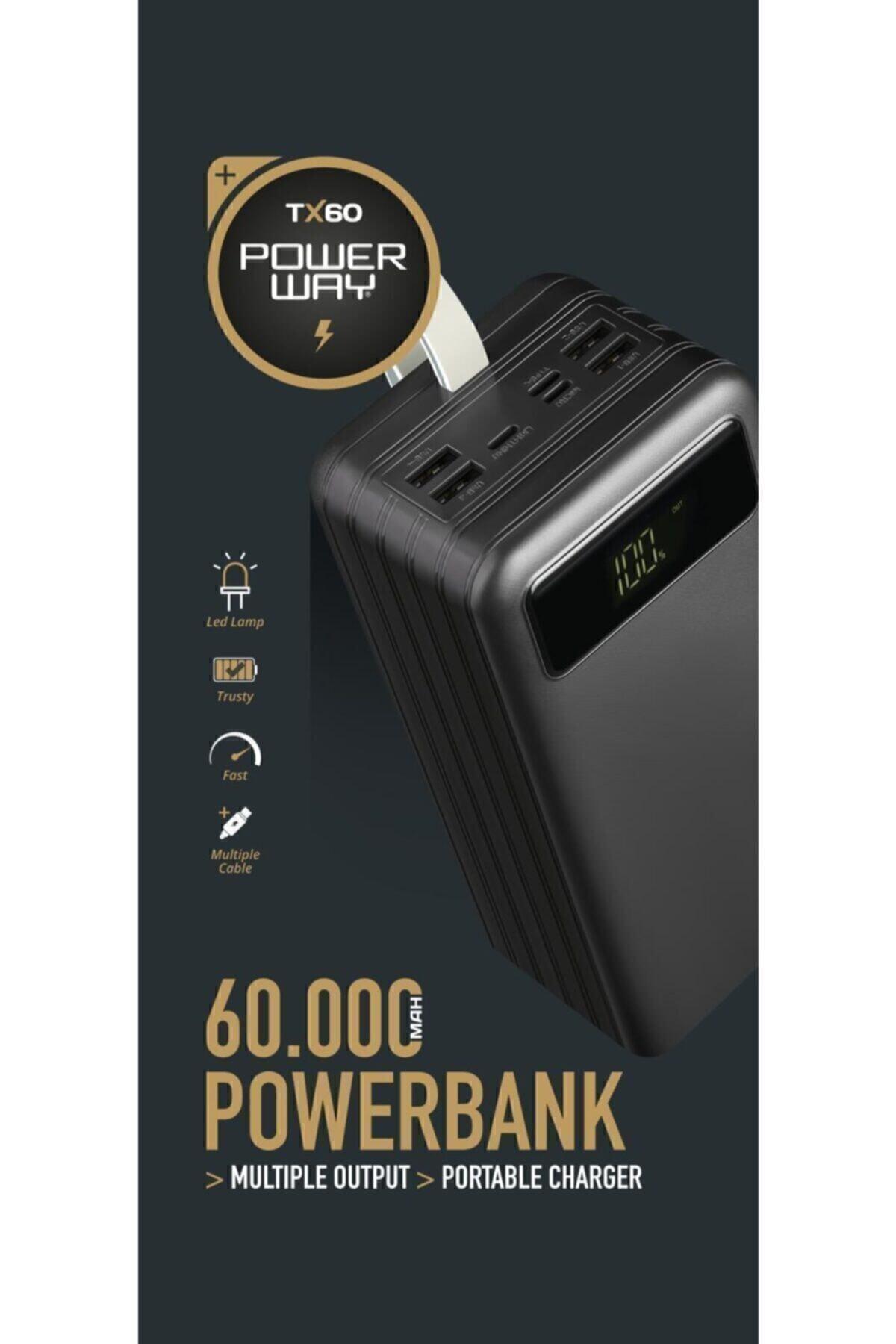 60.000 Mah Powerbank Tx60