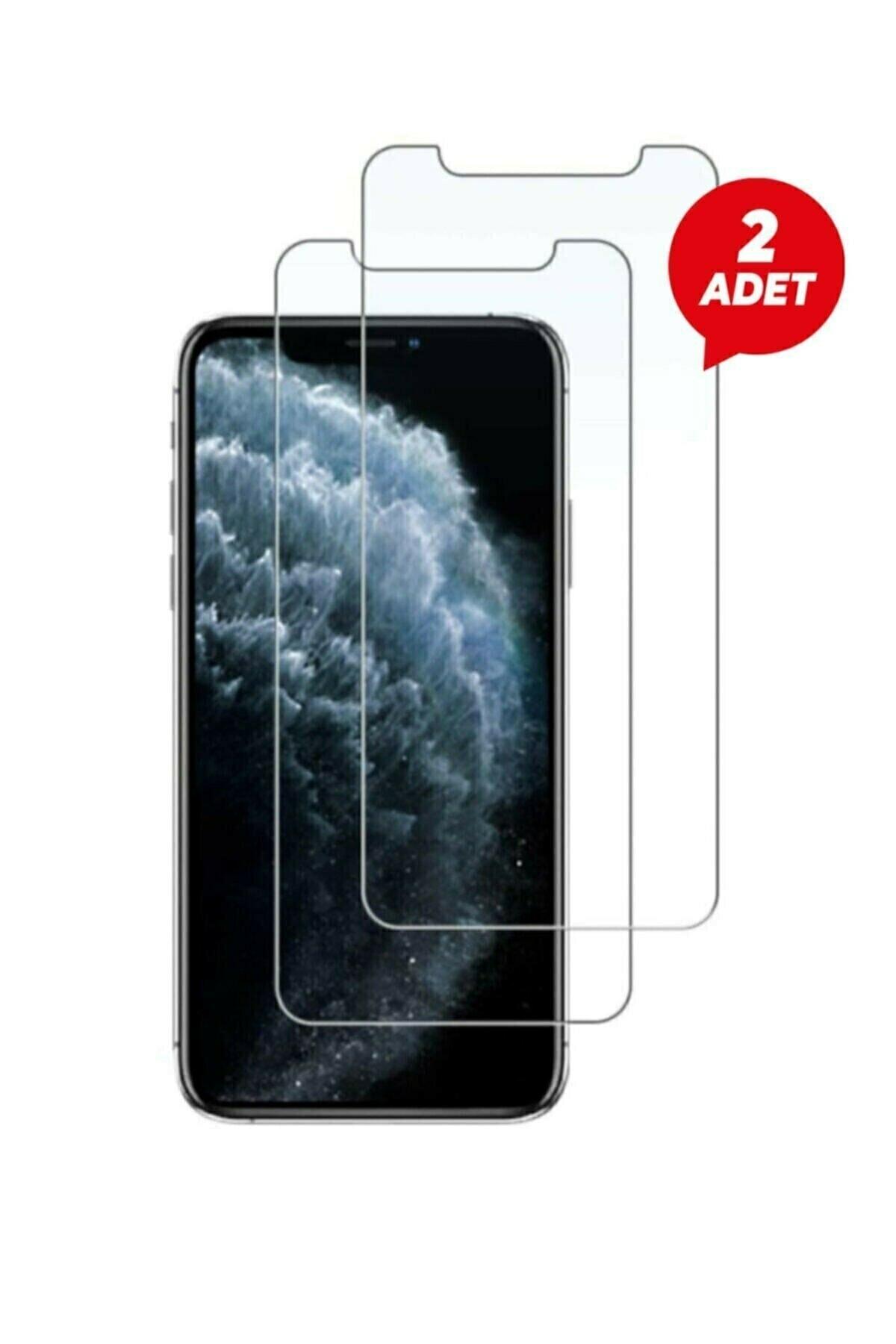 Iphone 11 Uyumlu 6.1 Inç 2 Adet Kırılmaz Temperli Şeffaf Ekran Koruyucu Telefon Camı