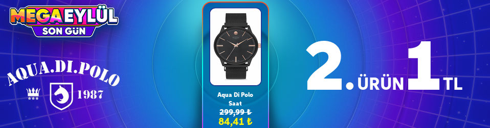 Aqua Di  Polo - Mega Eylülün Çok Satanları