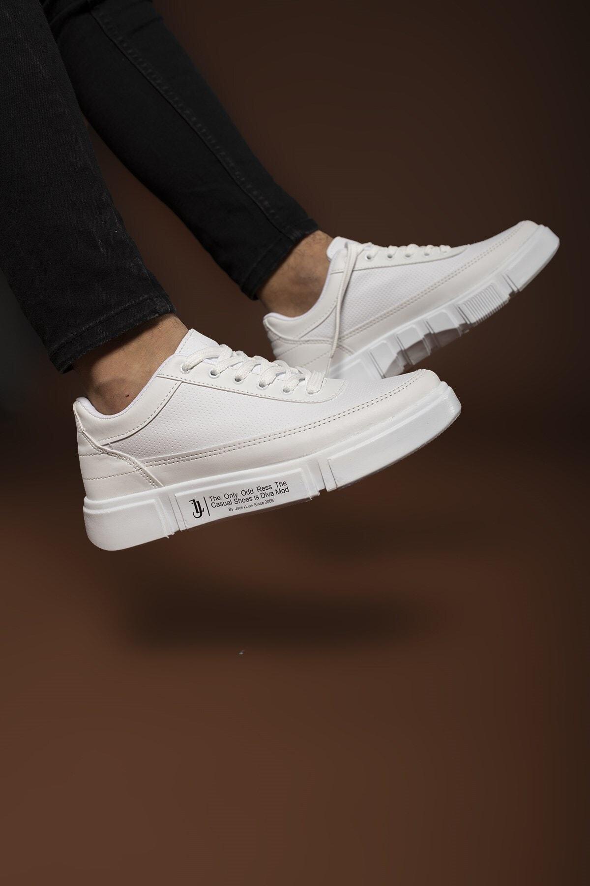 Erkek Beyaz Sneaker 0012x20