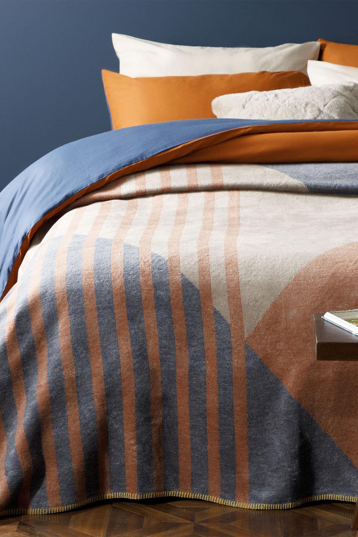 Artgeo Pamuklu Tek Kişilik Battaniye 150x200 Cm Kiremit