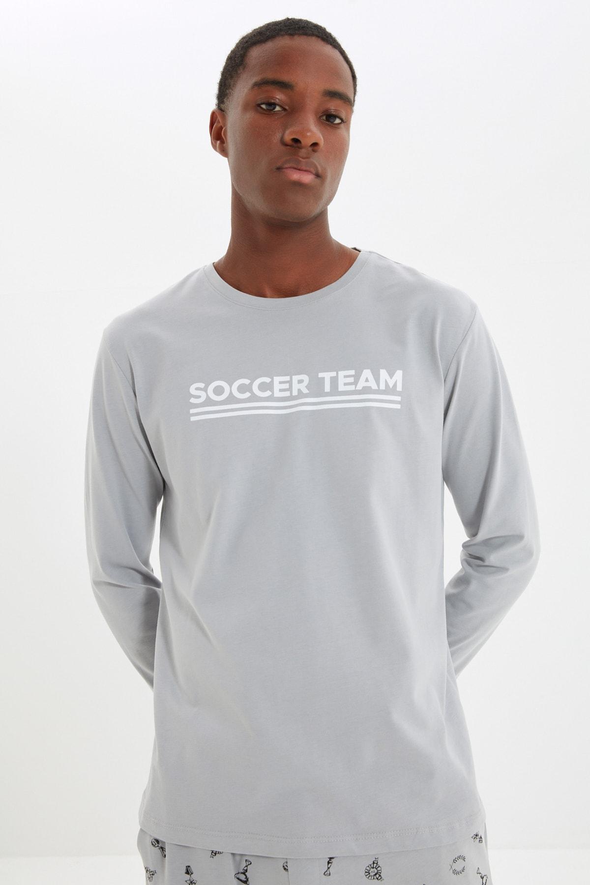 ست لباس راحتی ترندیول من مردانه توسی فوتبالیست Trendyolman