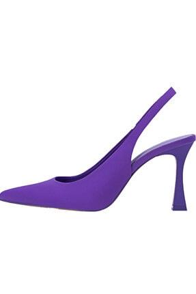 تصویر از Arkası Açık Topuklu Ayakkabı