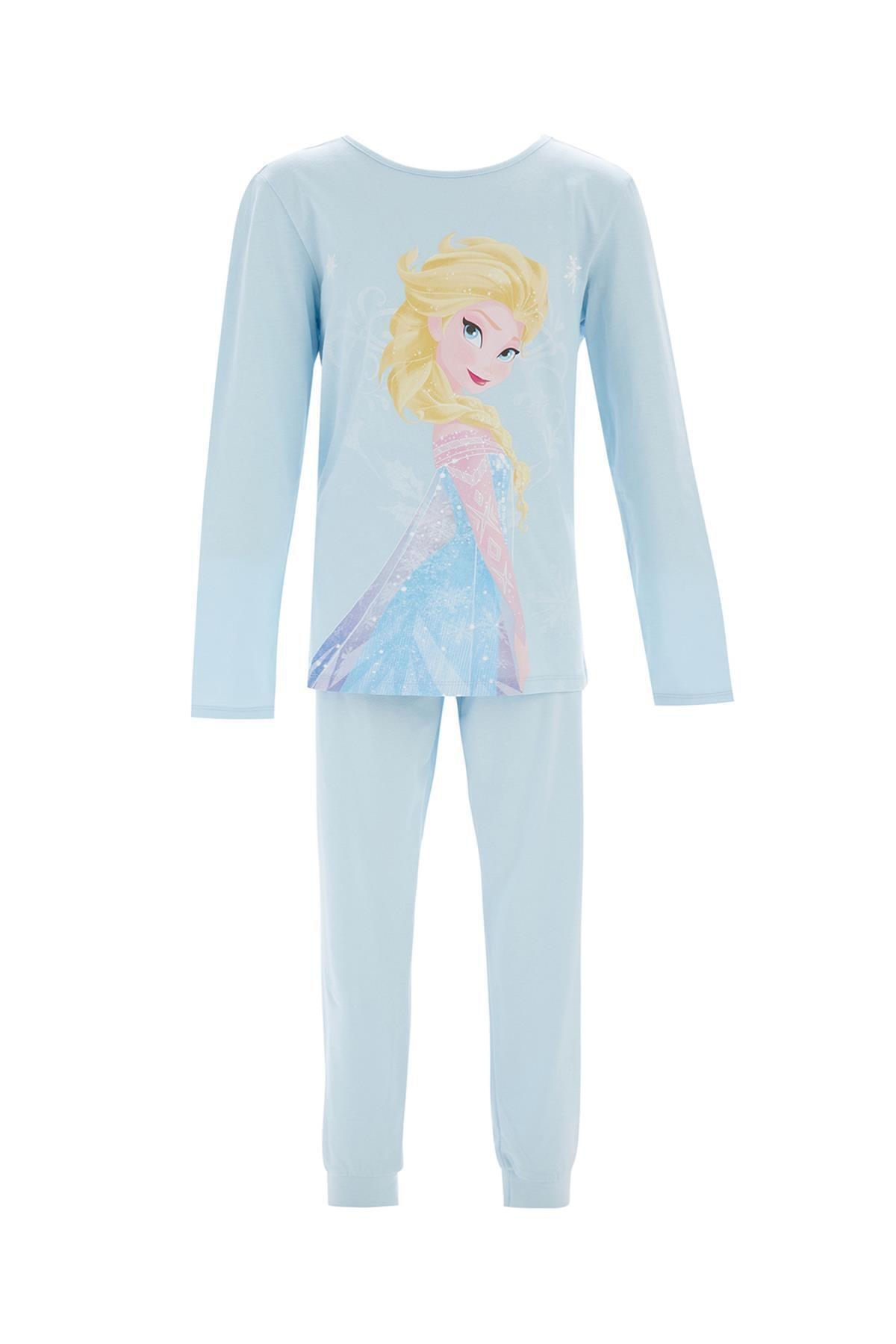 Kız Çocuk Frozen Lisanslı Pijama Takımı