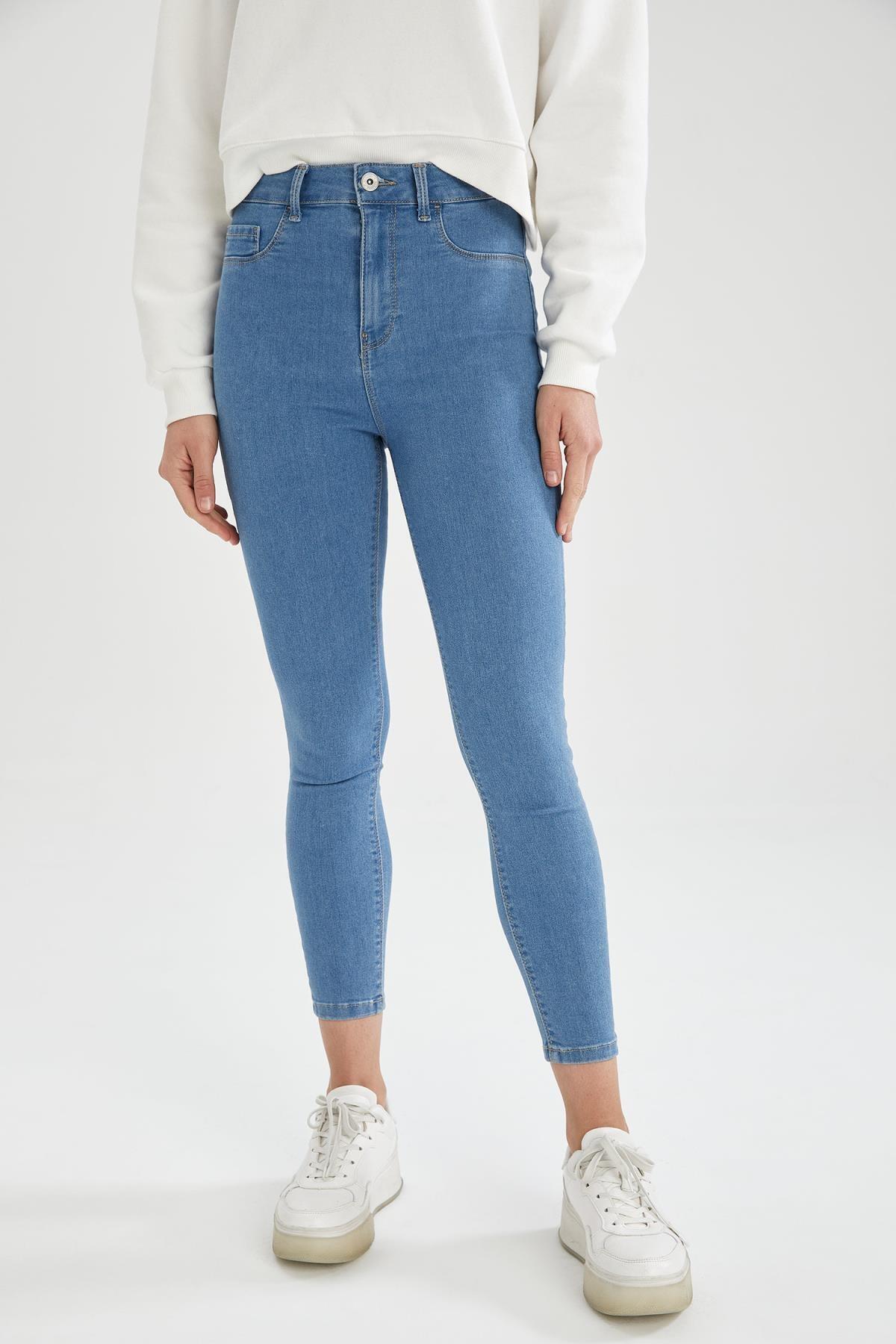 Anna Ankle Yüksek Bel Skinny Fit Jean Pantolon