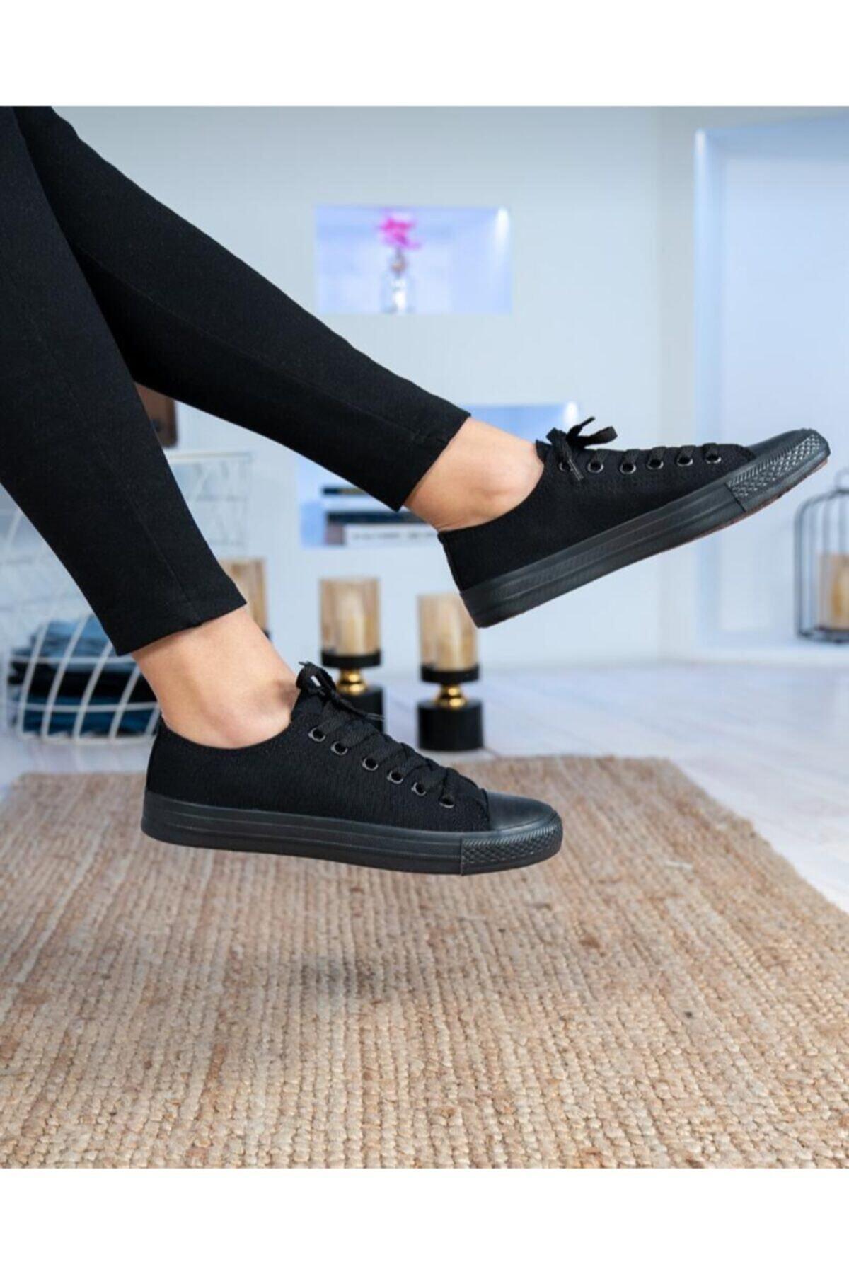Unisex Kömür Spor Ayakkabı