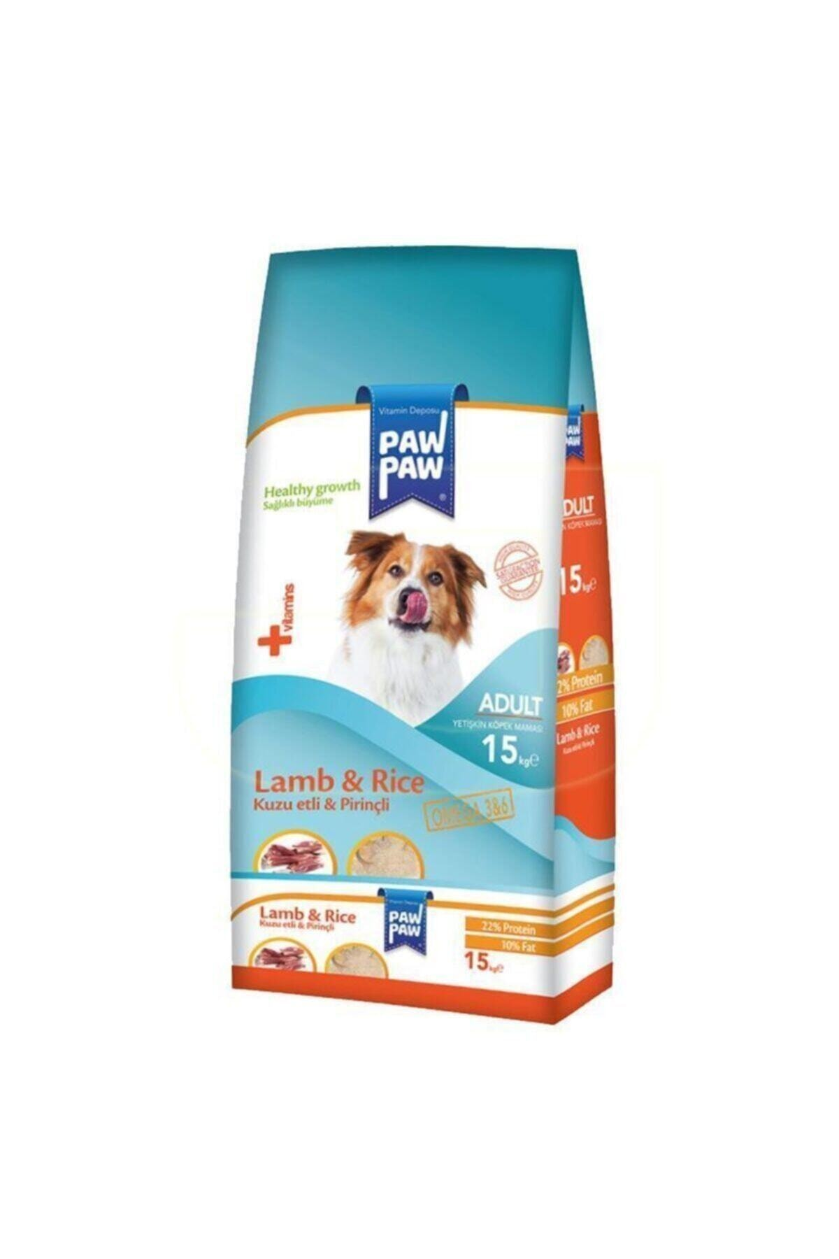 Kuzu Etli Ve Pirinçli Yetişkin Köpek Maması 15 kg