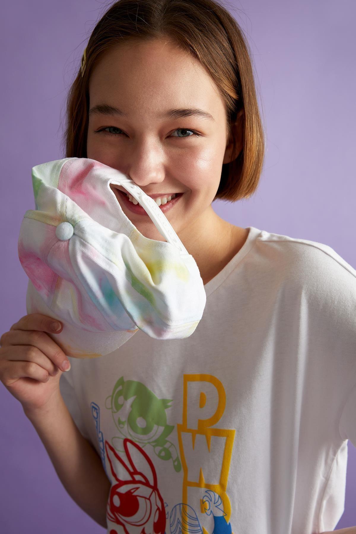 Coool Powerpuff Girls Lisanslı Relax Fit Kısa Kollu Tişört