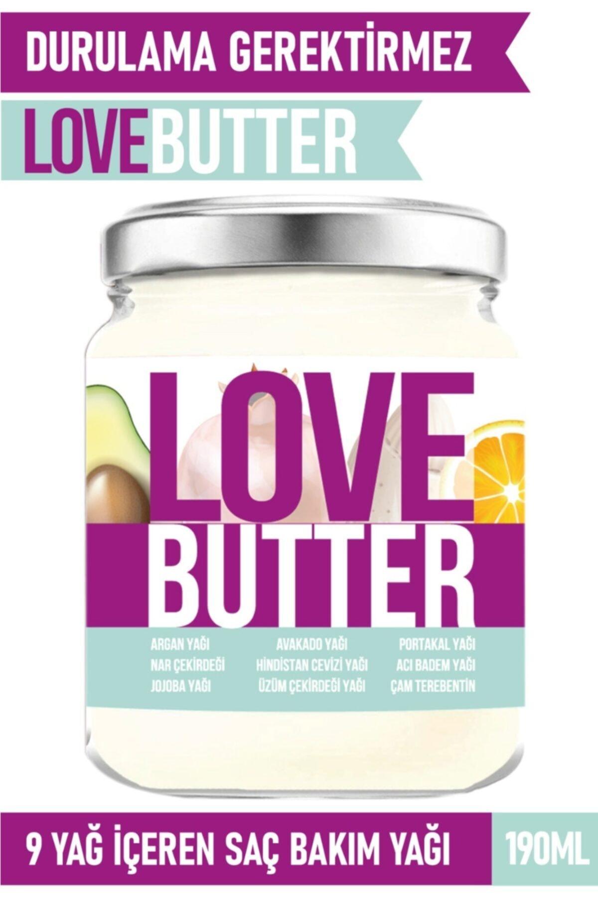 Love Butter Saç Bakım Yağı Saç Besleyici Ve Güçlendirici Saç Maskesi 190ml