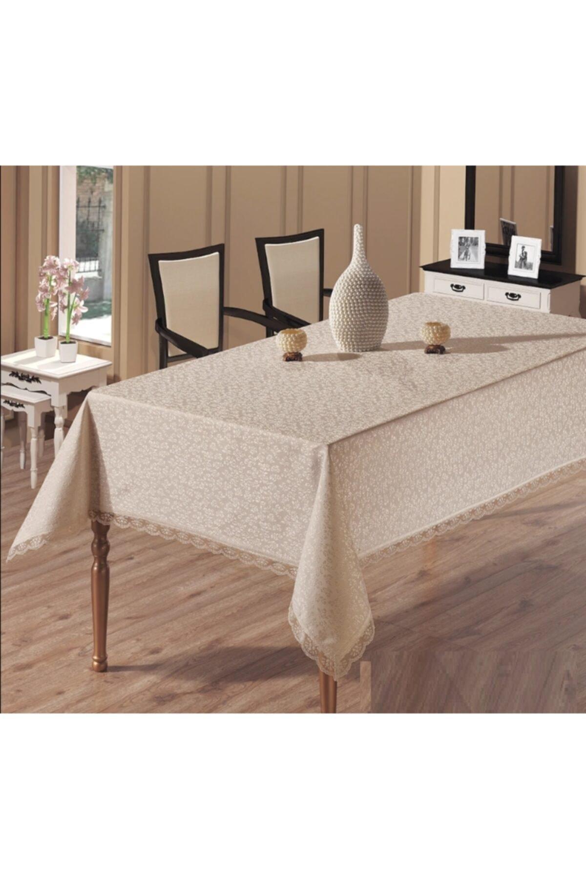 Kdk Dertsiz Masa Örtüsü Cappucino