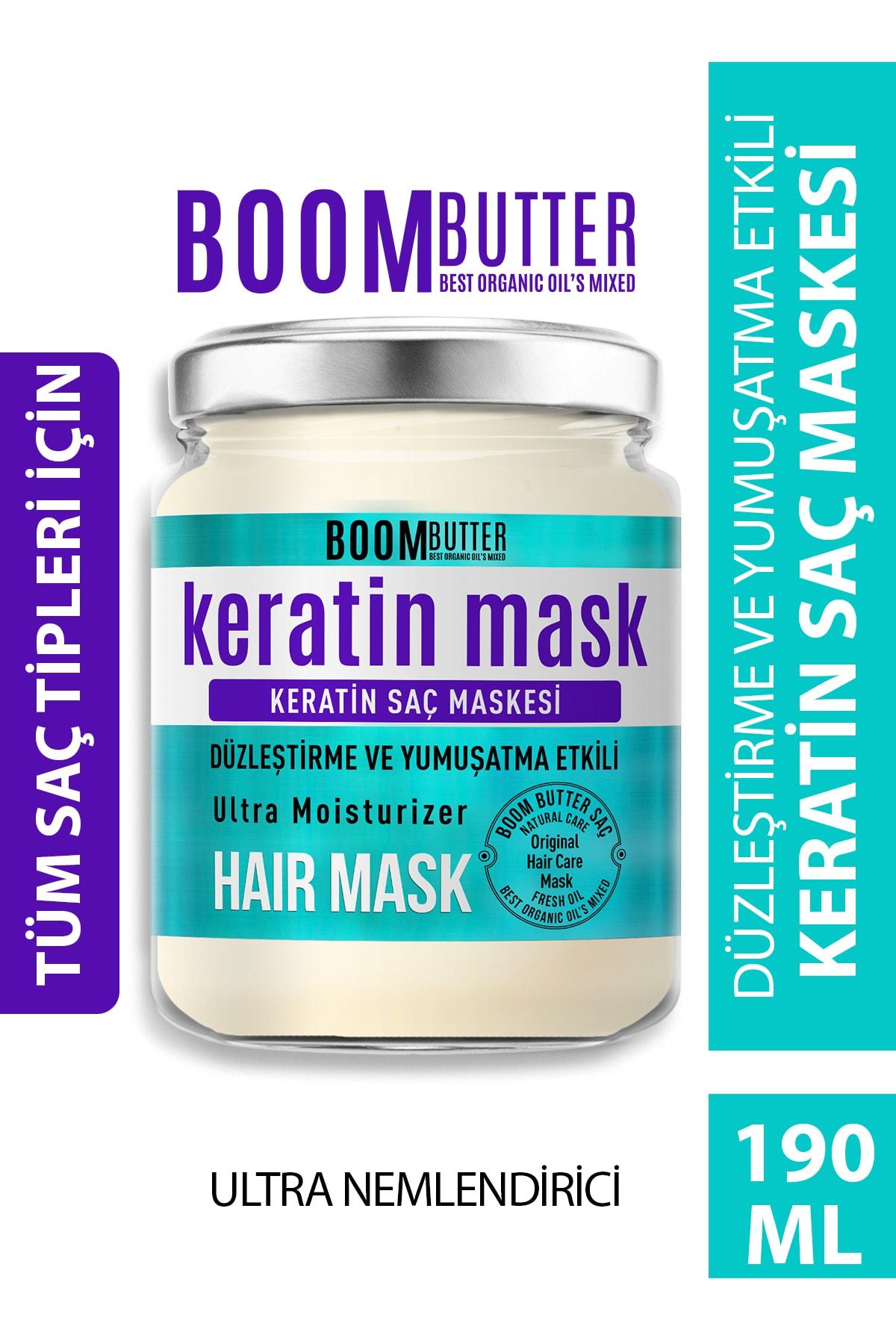 Güçlendirici Onarıcı Keratin Saç Maskesi 190 ml