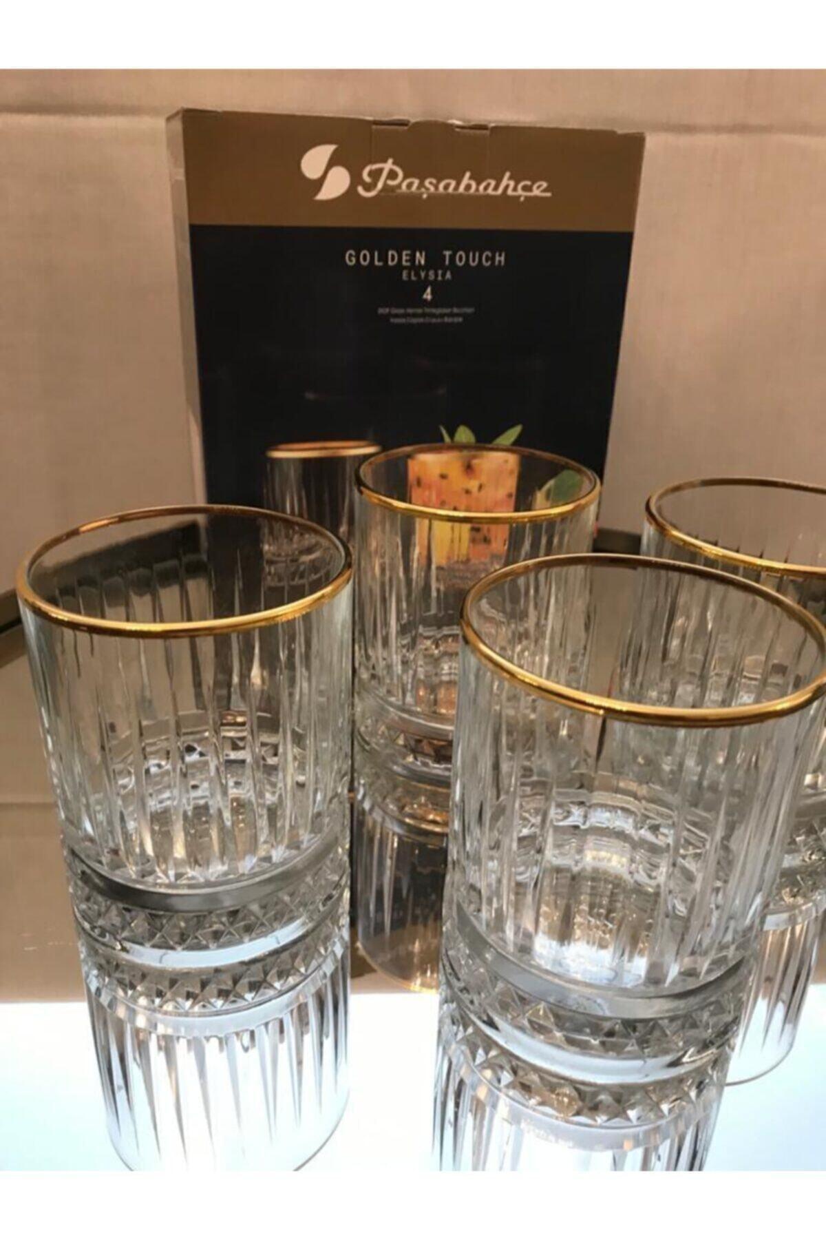 Yeni Golden Touch Elysia Meşrubat Bardağı 4'lü Fma03246