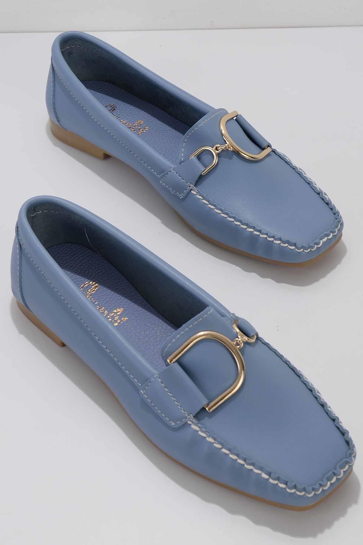 Mavi Kadın Loafer Ayakkabı K01542030509