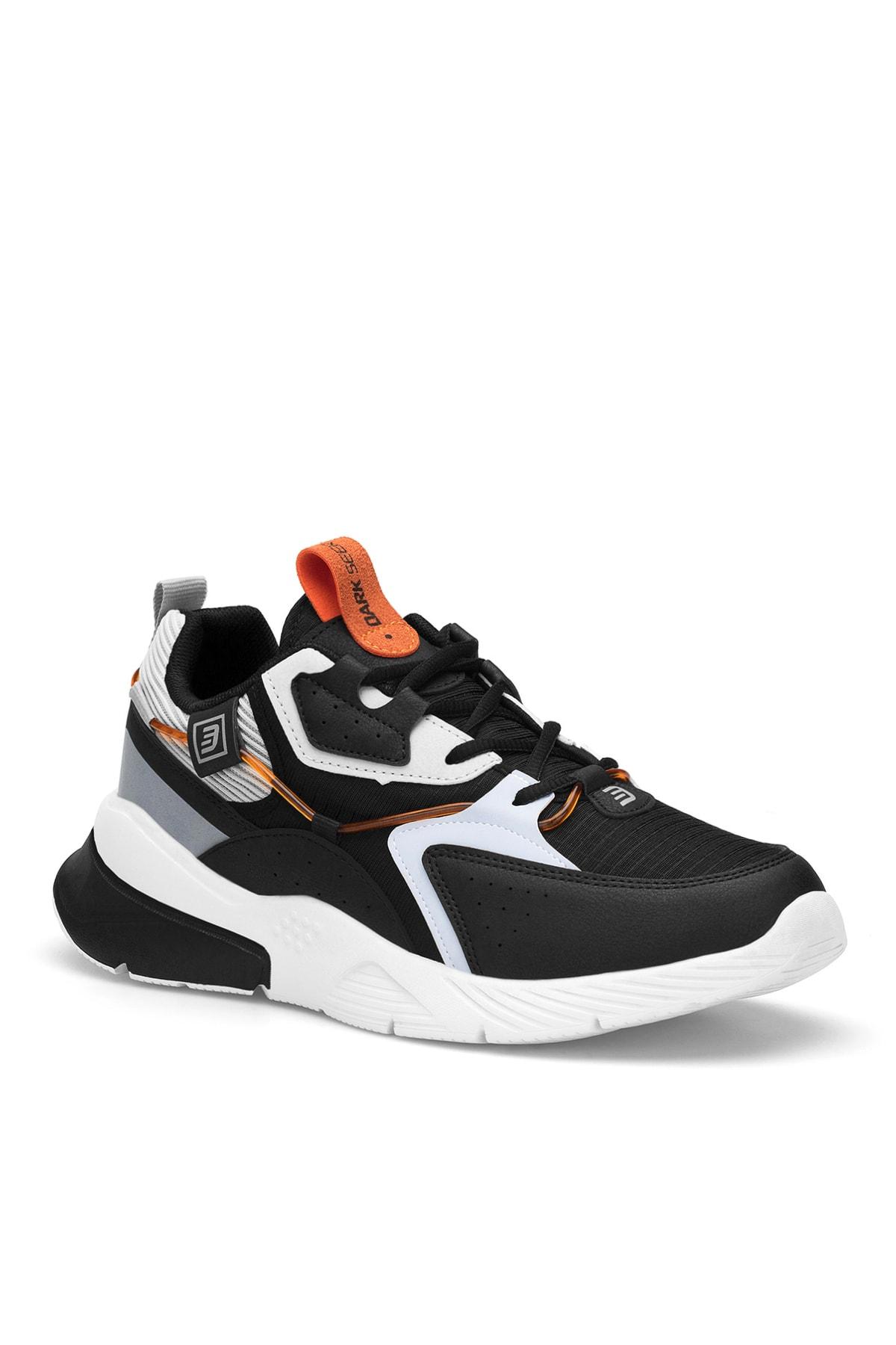 Siyah Beyaz Buz Erkek Sneaker