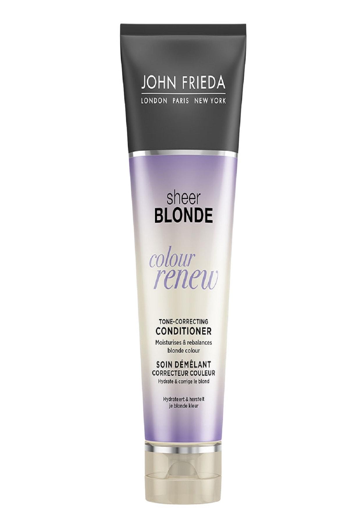 Turunculaşma Karşıtı Mor Saç Kremi - Sheer Blonde Color Renew Conditioner 250ml