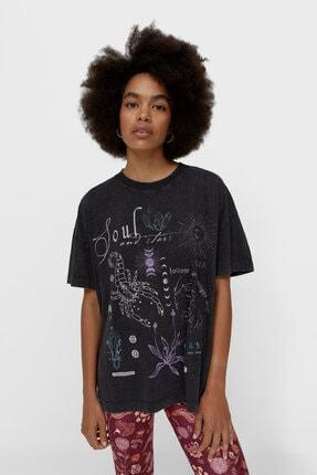 تصویر از Asit Yıkama Oversize T-shirt