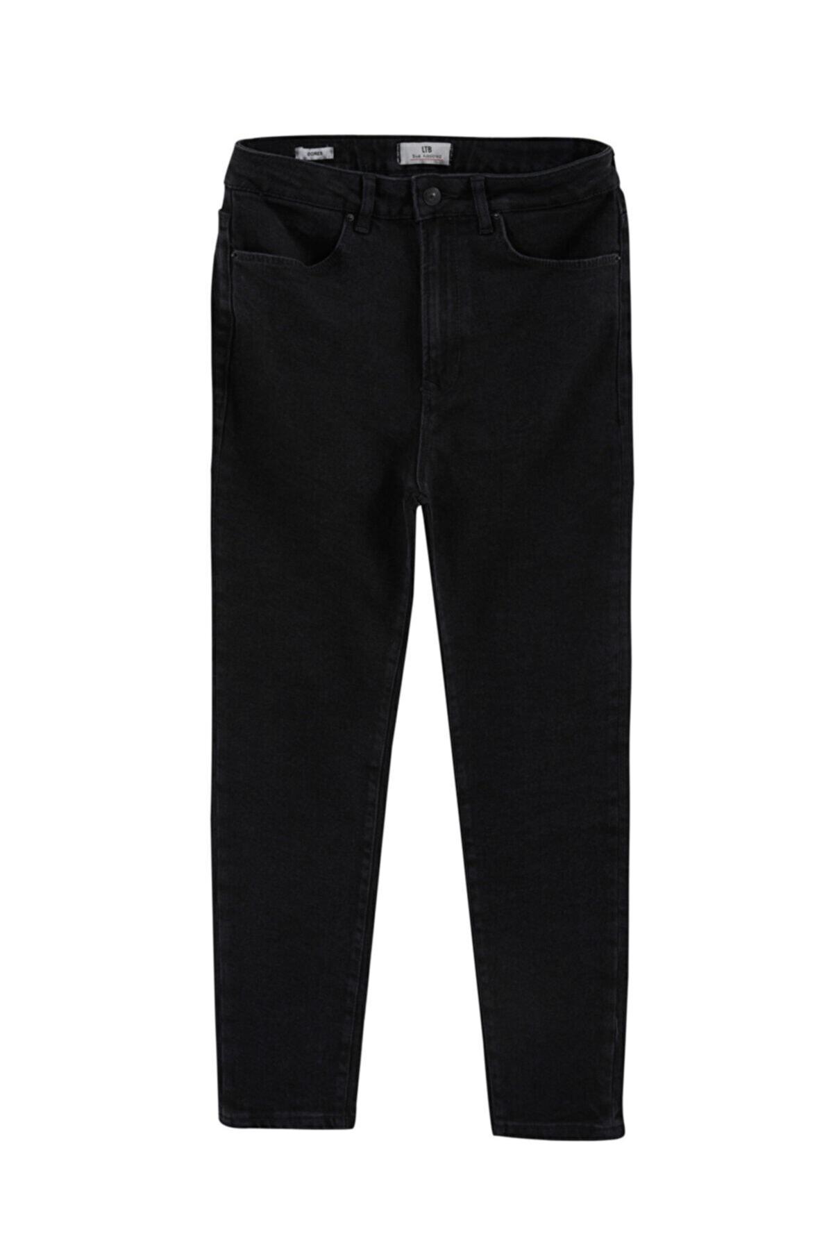 Dores Black Wash Pantolon