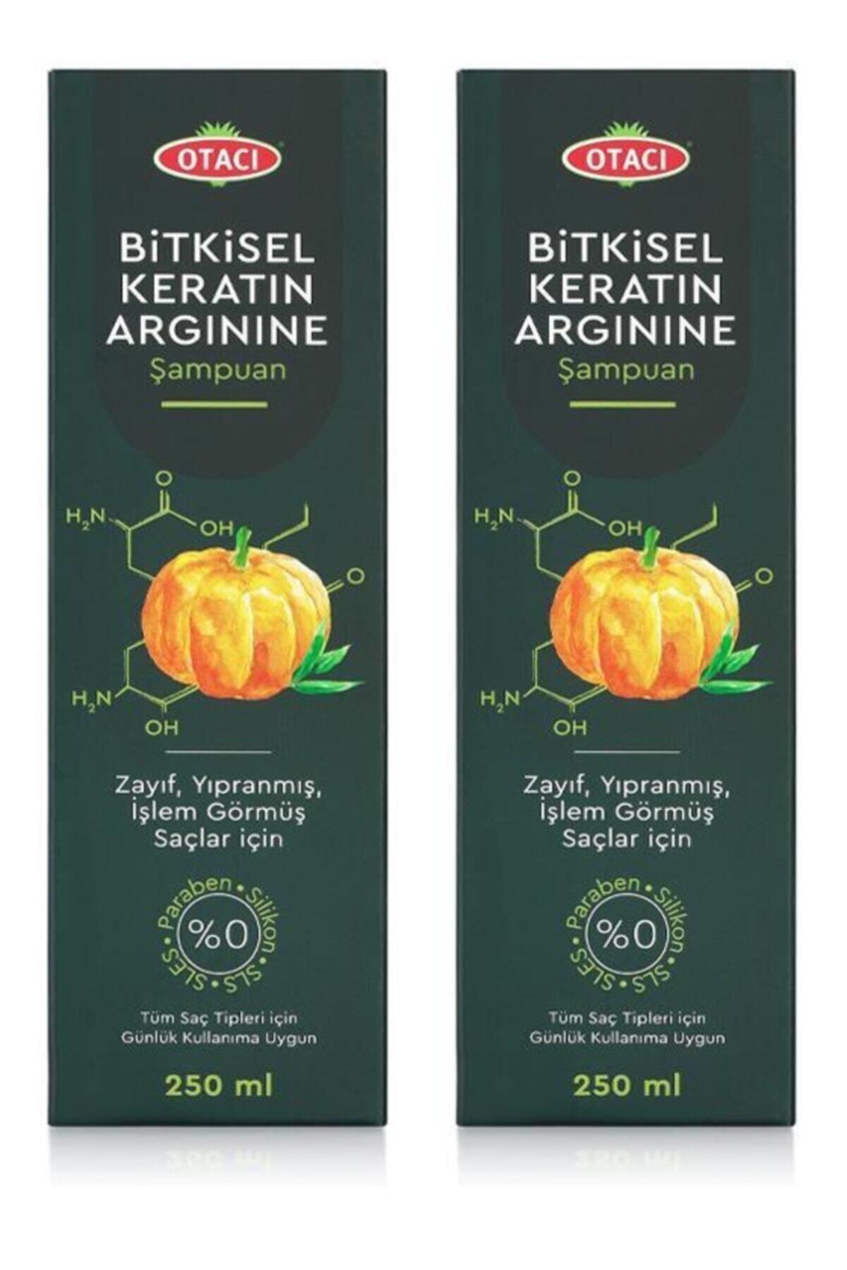 Bitkisel Keratin Arginine Şampuan 250 Ml X 2 Adet