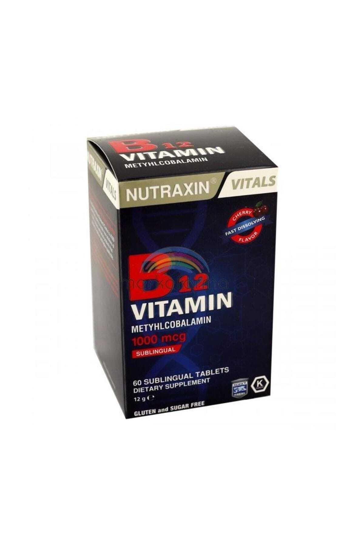 B12 Vitamin 1000 mg 60 Tablet