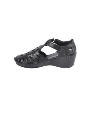 تصویر از 18793057 Dolgu Topuk Delikli Yazlık Kadın Ayakkabı