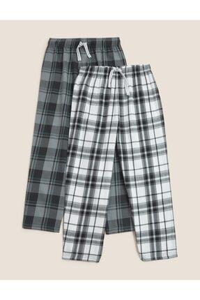 Picture of 2'li Saf Pamuklu Pijama Altı (6-16 Yaş)