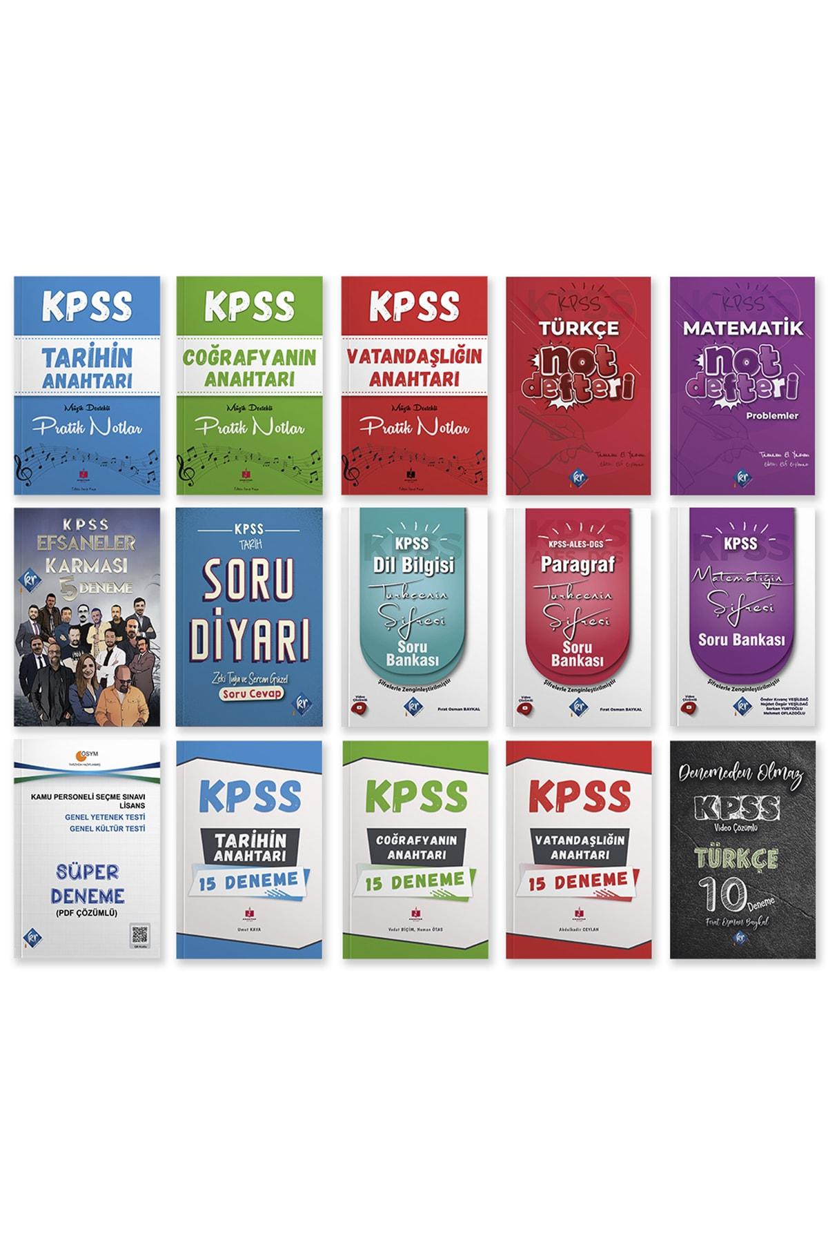 Kpss 2022 Süper Kamp Seti - Genel Kültür Genel Yetenek Konu Soru Deneme