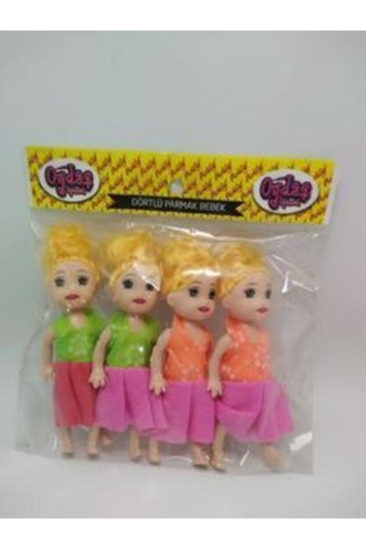 Parmak Barbie Et Bebek 4lü