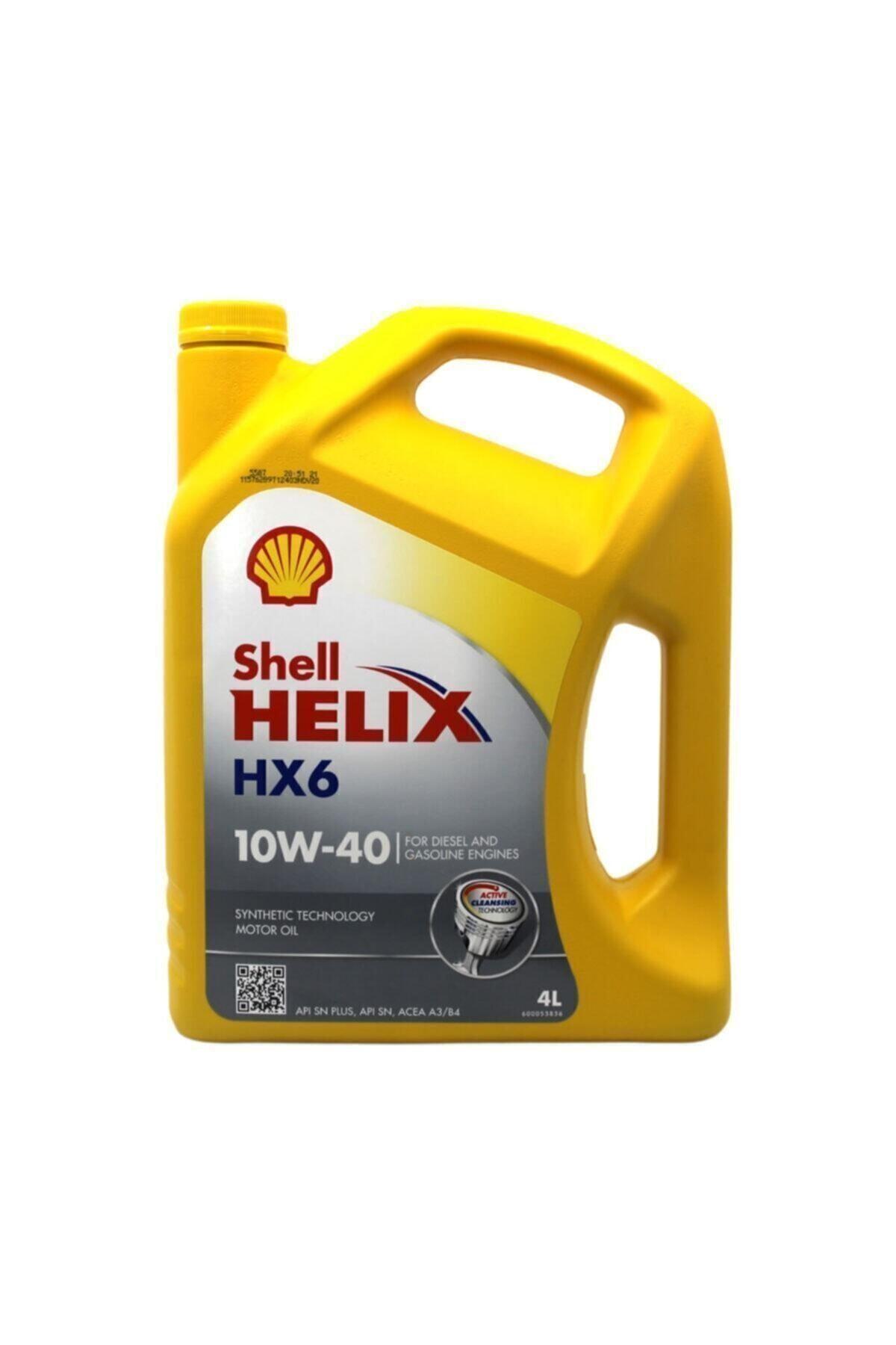 Helix Hx6 10w-40 4 Lt Motor Yağı