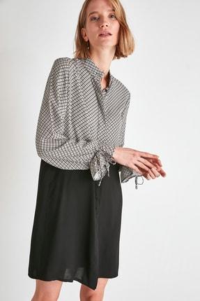TRENDYOLMİLLA Çok Renkli Gömlek Elbise TWOAW21EL1490 3