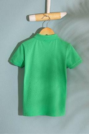 US Polo Assn Yesıl Erkek Cocuk T-Shirt 1