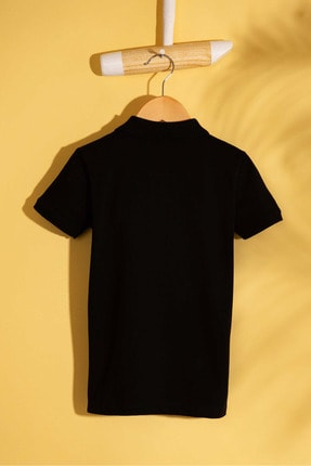 US Polo Assn Sıyah Erkek Cocuk T-Shirt 1