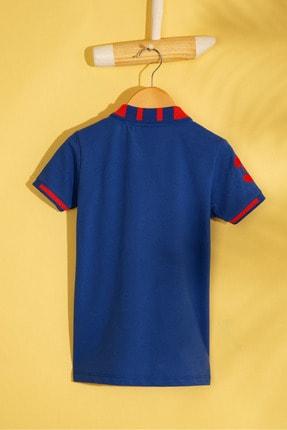 US Polo Assn Mavı Erkek Cocuk T-Shirt 1