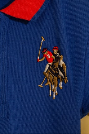 US Polo Assn Mavı Erkek Cocuk T-Shirt 2