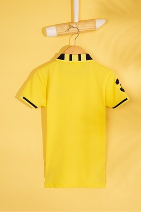 US Polo Assn Sarı Erkek Cocuk T-Shirt 1