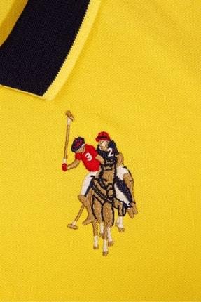 US Polo Assn Sarı Erkek Cocuk T-Shirt 2