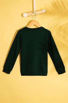 US Polo Assn Yesil Erkek Çocuk Sweatshirt 1