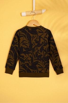 US Polo Assn Yesıl Erkek Cocuk Sweatshirt 1