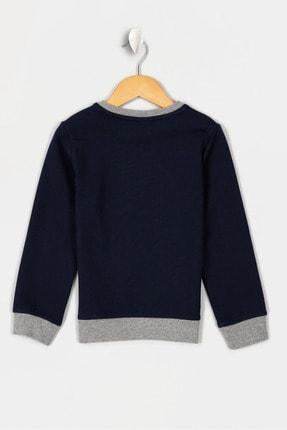 US Polo Assn Lacıvert Erkek Çocuk Osto-E Sweatshirt 1