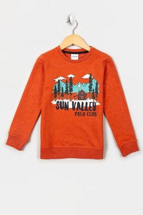 US Polo Assn Turuncu Erkek Çocuk Santander-E Sweatshirt 0