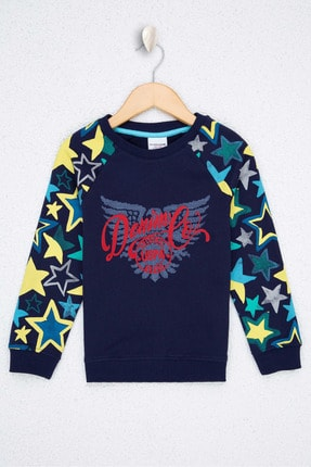 US Polo Assn Lacıvert Erkek Çocuk Sweatshirt 0