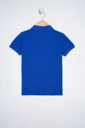 US Polo Assn Mavı Erkek Çocuk T-Shirt 1