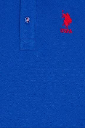 US Polo Assn Mavı Erkek Çocuk T-Shirt 2
