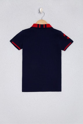 US Polo Assn Lacıvert Erkek Çocuk T-Shirt 1