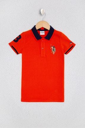 US Polo Assn Kirmizi Erkek Çocuk T-Shirt 0