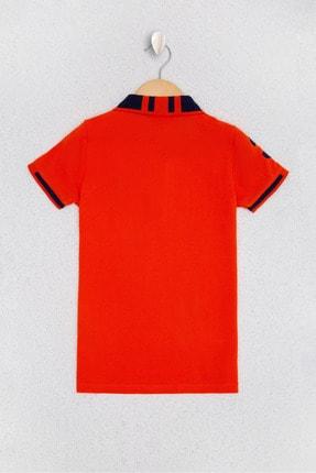 US Polo Assn Kirmizi Erkek Çocuk T-Shirt 1