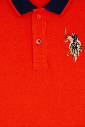 US Polo Assn Kirmizi Erkek Çocuk T-Shirt 2