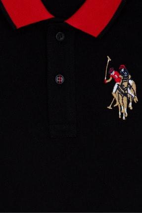 US Polo Assn Sıyah Erkek Çocuk T-Shirt 2
