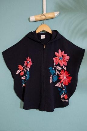US Polo Assn Lacivert Kız Çocuk Sweatshirt 0