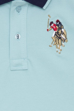 US Polo Assn Mavi Erkek Çocuk T-Shirt 2