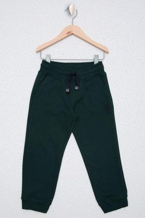 US Polo Assn Yesil Erkek Çocuk Orme Pantolon 0